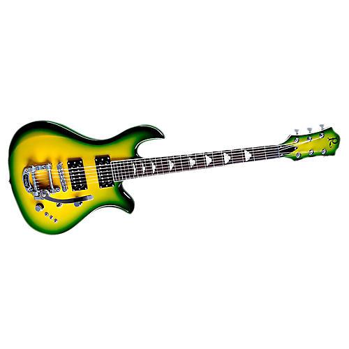 B.C. Rich Neil Giraldo Signature Eagle Electric Guitar Green Burst