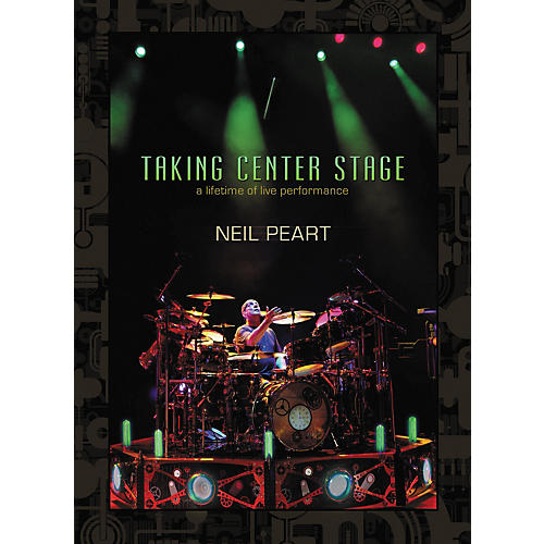 Hudson Music Neil Peart - Taking Center Stage 3-DVD Set