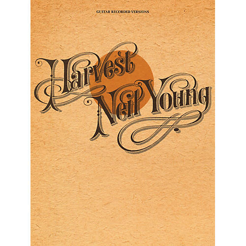 Hal Leonard Neil Young - Harvest Guitar Tab Songbook-thumbnail