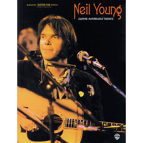 Alfred Neil Young Guitar Anthology Series Book-thumbnail