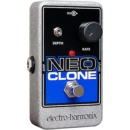 Electro-Harmonix Neo Clone Analog Chorus Guitar Effects Pedal Black, Blue