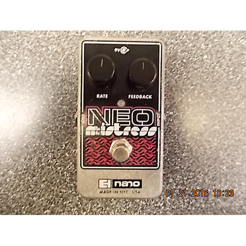 Electro-Harmonix Neo Mistress Flanger Effect Pedal-thumbnail
