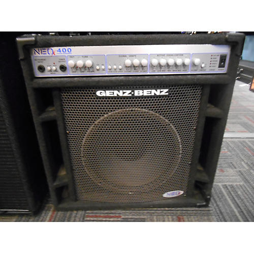 used genz benz neox400 bass combo amp guitar center. Black Bedroom Furniture Sets. Home Design Ideas