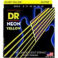DR Strings Neon Phosphorescent Yellow Electric Guitar Strings Light-thumbnail
