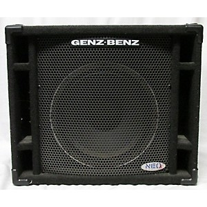 Pre-owned Genz Benz Neox Cabinet Bass Cabinet