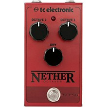 TC Electronic Nether Octaver Effects Pedal