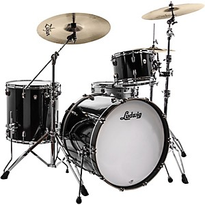 Ludwig Neusonic 3-Piece Shell Pack with 22 inch Bass Drum by Ludwig