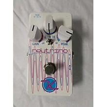 Keeley Neutrino Effect Pedal
