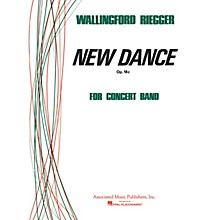 Associated New Dance (Score and Parts) Concert Band Level 4-5 Composed by Wallingford Riegger