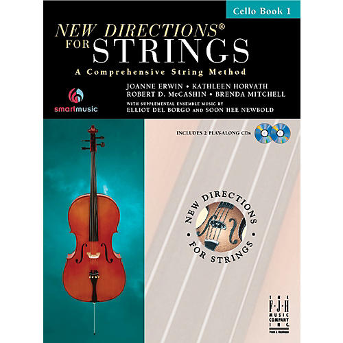 FJH Music New Directions For Strings, Cello Book 1-thumbnail