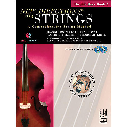 FJH Music New Directions For Strings, Double Bass Book 2-thumbnail