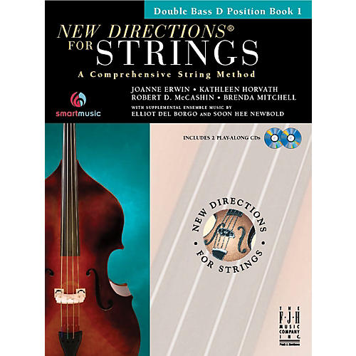 FJH Music New Directions For Strings, Double Bass D Position Book 1