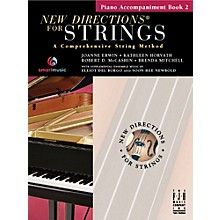 FJH Music New Directions For Strings, Piano Accompaniment Book 2