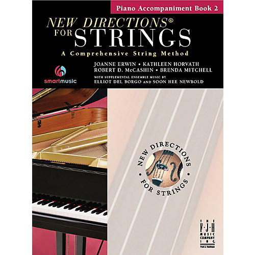 FJH Music New Directions For Strings, Piano Accompaniment Book 2-thumbnail