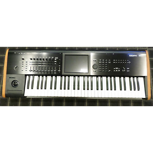 used korg new kronos 61 keyboard workstation guitar center. Black Bedroom Furniture Sets. Home Design Ideas