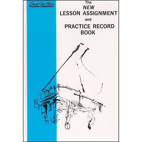 Alfred New Lesson Assignment and Practice Record Book-thumbnail