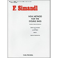 Carl Fischer New Method For The Double Bass - Book II