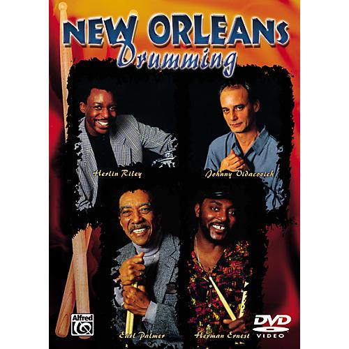 Alfred New Orleans Drumming Series (DVD)