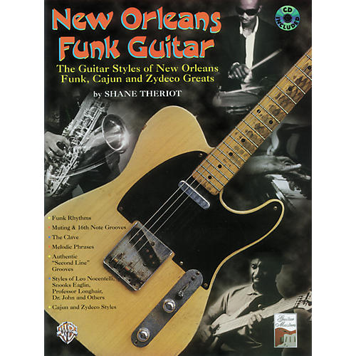 Alfred New Orleans Funk Guitar Book/CD