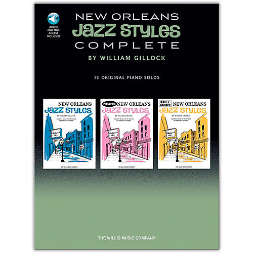 Hal Leonard New Orleans Jazz Styles - Complete  (Book/CD)-thumbnail
