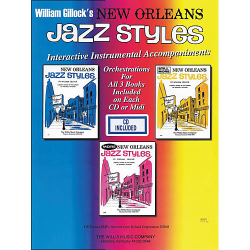 Willis Music New Orleans Jazz Styles Combo Pack (3 Books/CD)