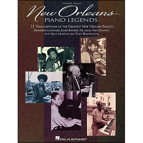 Hal Leonard New Orleans Piano Legends arranged for piano solo-thumbnail