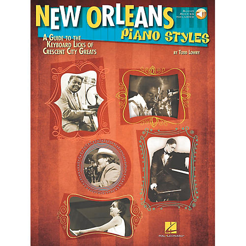 Hal Leonard New Orleans Piano Styles - Book/CD-thumbnail