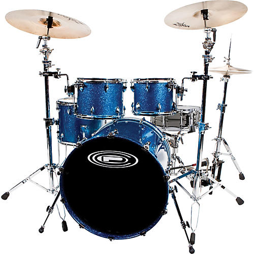 Orange County Drum & Percussion Newport 5-piece Shell Pack with Free Ludwig Black Beauty Snare-thumbnail