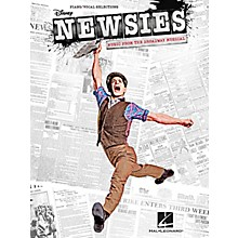 Hal Leonard Newsies - Music From The Broadway Musical for Piano/Vocal/Guitar Songbook