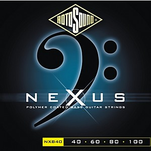 Rotosound Nexus Polymer Extra Light Coated Bass Strings by Rotosound