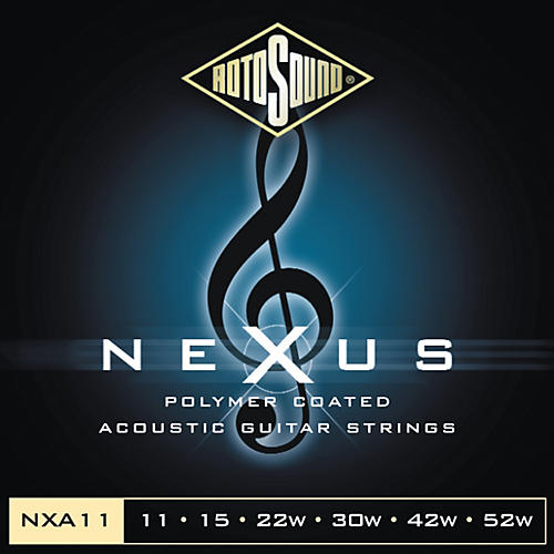 Rotosound Nexus Polymer Light Coated Acoustic Strings-thumbnail