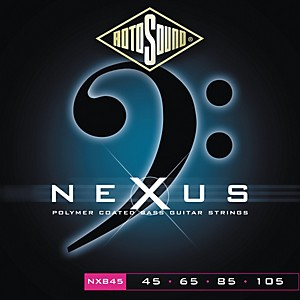 Rotosound Nexus Polymer Light Coated Bass Strings by Rotosound