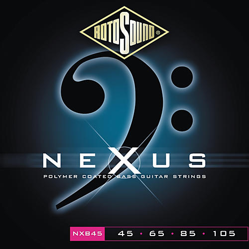 Rotosound Nexus Polymer Light Coated Bass Strings-thumbnail