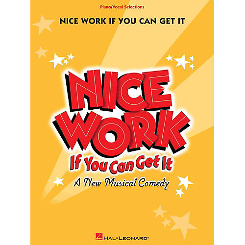 Hal Leonard Nice Work If You Can Get It - Piano/Vocal Selections-thumbnail
