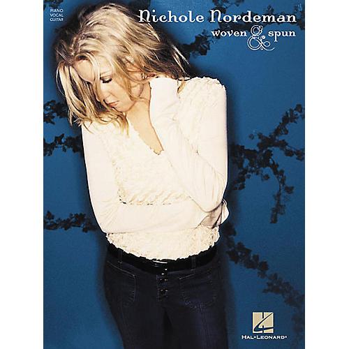 Hal Leonard Nichole Nordeman - Woven & Spun Piano, Vocal, Guitar Songbook-thumbnail