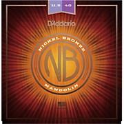 D'Addario Nickel Bronze Mandolin, Cust Med, 11.5-40