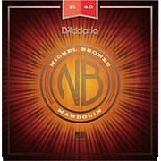 D'Addario Nickel Bronze Mandolin, Medium, 11-40