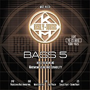 Kerly Music Nickel Plated 5-String Bass Strings Light