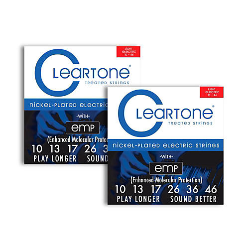 Cleartone Nickel-Plated Light Electric Guitar Strings .10 - .46  2-Pack-thumbnail