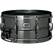 Nickel-Plated Snare Drum Black 6.5x14