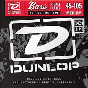 Dunlop Nickel Plated Steel Bass Strings - Medium by Dunlop