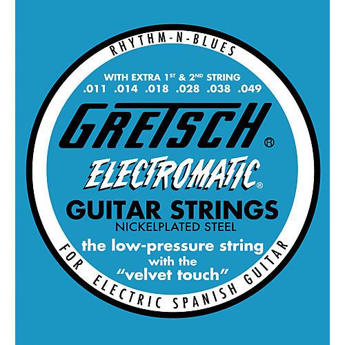 Gretsch Guitars Nickel Plated Steel Medium Electric Guitar Strings