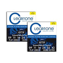 Cleartone Nickel-Plated Super Light Electric Guitar Strings .09 - .422-Pack