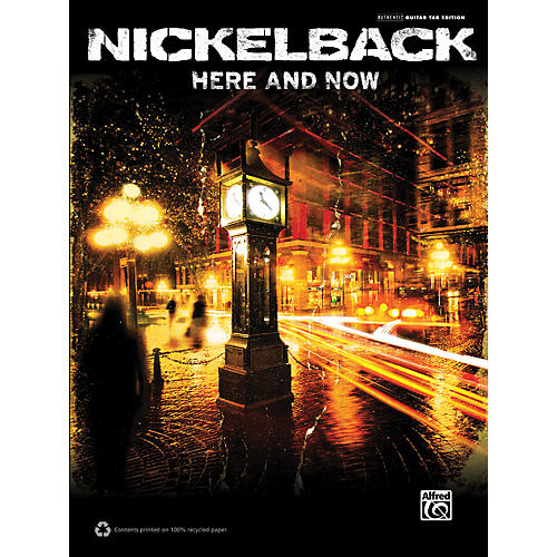 Alfred Nickelback Here and Now Guitar TAB Book-thumbnail