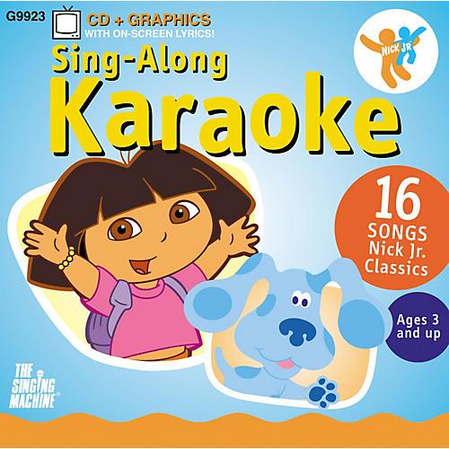 The Singing Machine Nickelodeon Dora the Explorer Volume 1 Karaoke CD+G