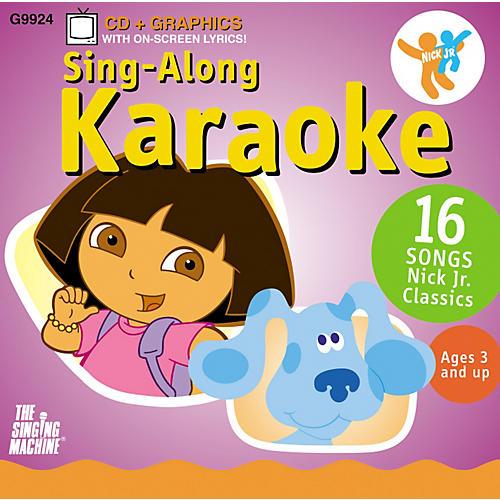 The Singing Machine Nickelodeon Dora the Explorer Volume 2 Karaoke CD+G
