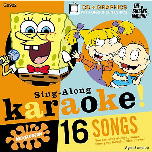 The Singing Machine Nickelodeon SpongeBob SquarePants Volume 2 Karaoke CD+G-thumbnail
