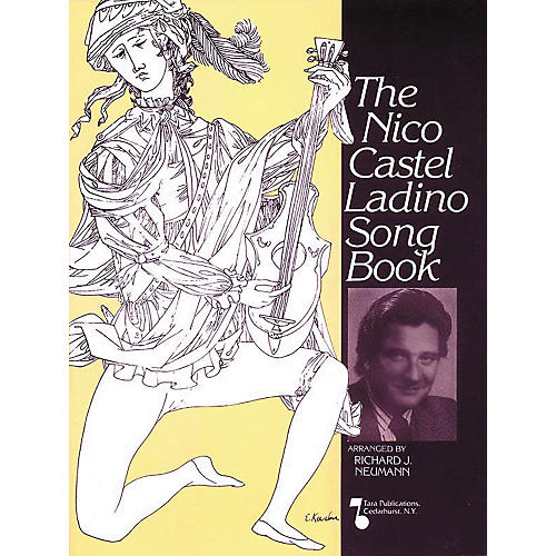 Tara Publications Nico Castel Ladino (Songbook)-thumbnail