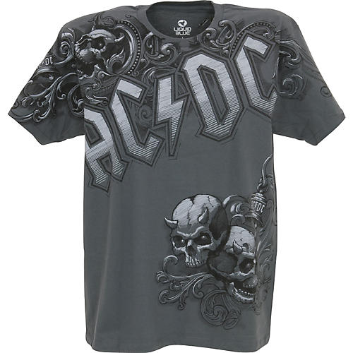 AC/DC Night Prowler T-Shirt Gray Medium