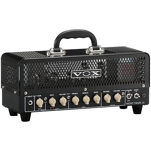 Vox Night Train G2 15W Tube Guitar Head Black